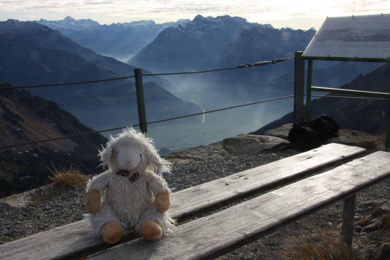 Klettersteig Speer : Speer und chüemettler